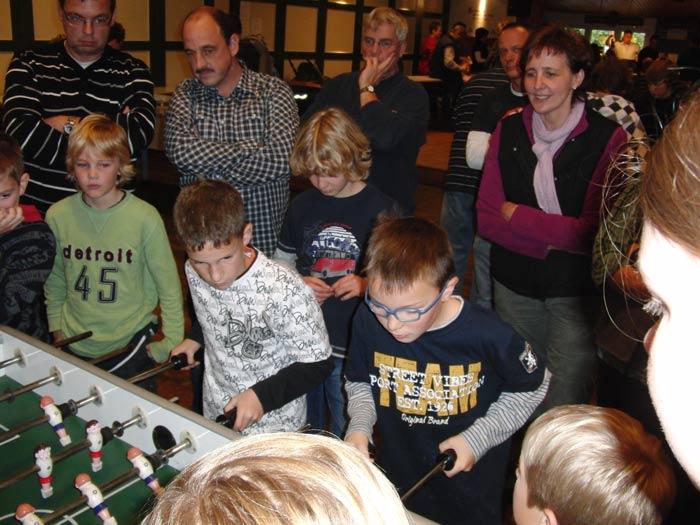 Florian Becker und Moritz Prigge siegten bei den Jungen...