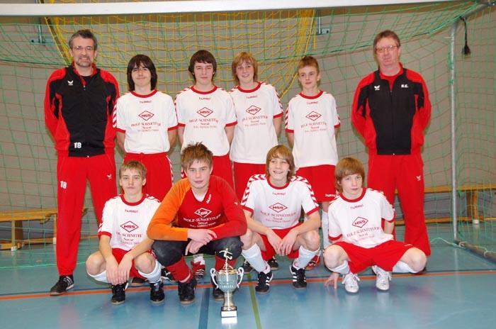 U11, U15 und U19 gewinnen Stadtmeistertitel in Werler Dreifachhalle (hier U15) - Fotos: Anzeiger