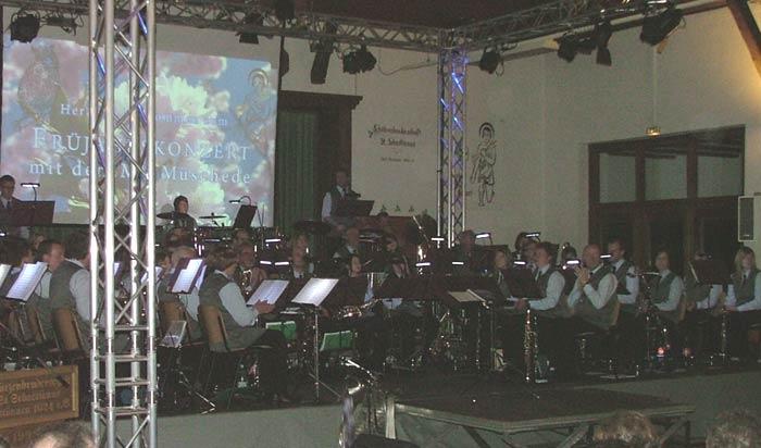 Der Musikverein Müschede begeistert die Westönner im März