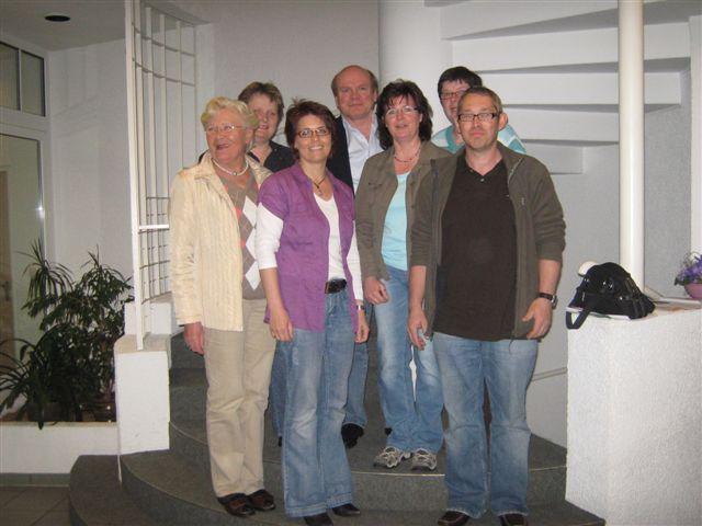 Der Pfarrgemeinderat im April 2010