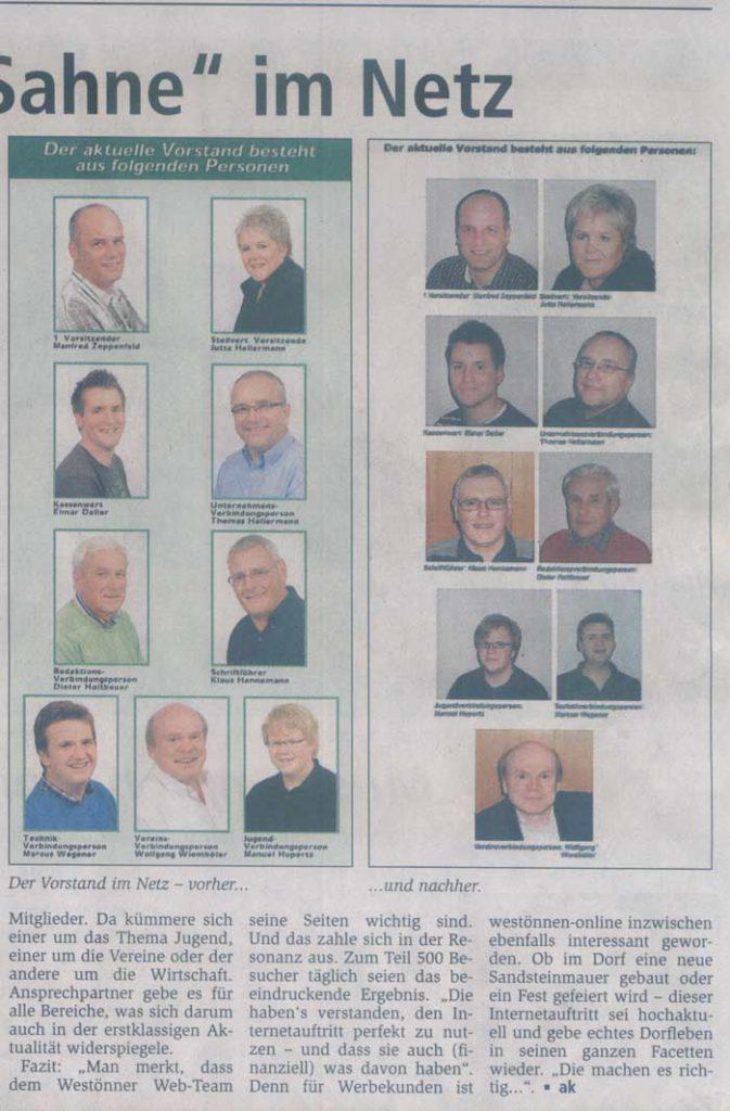 Scan: Werler Anzeiger vom 11.9.2010