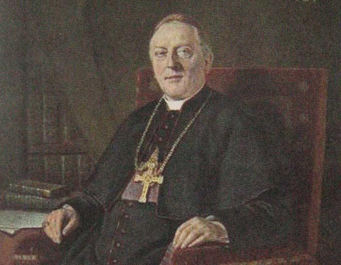 Bild 4:  Bischof Wilhelm Schneider