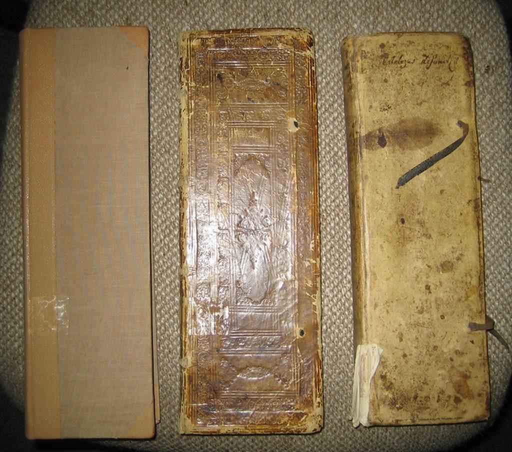 Die drei ältesten Westönner Kirchenbücher