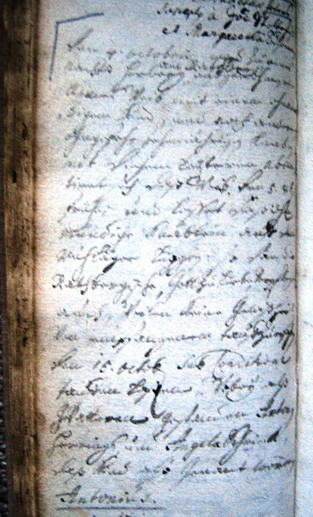 Originaltext vom  04.10.1713
