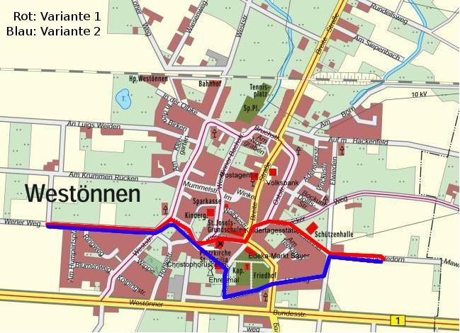 Westönnen Jakobsweg