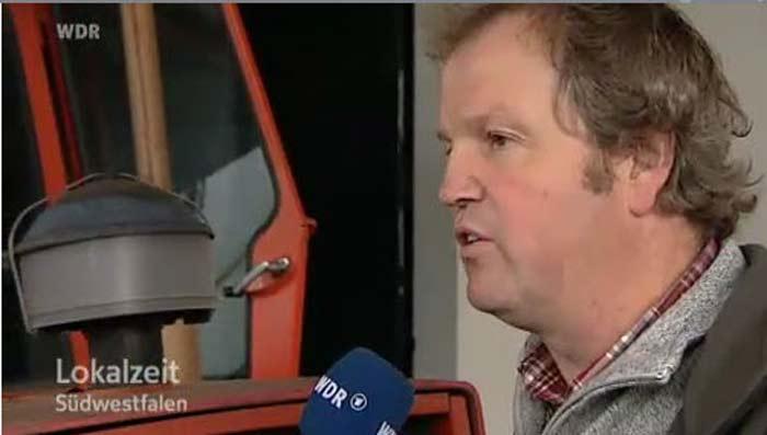Screenshot WDR - Lokalzeit Südwestfalen