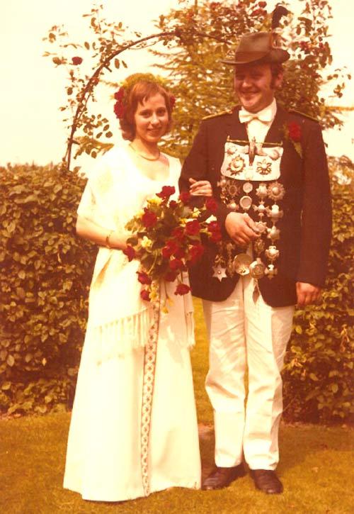 Das Königspaar 1972