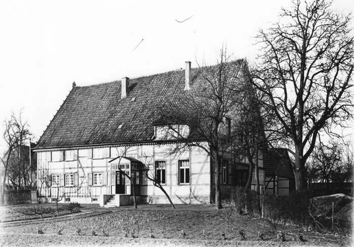 Hof Schleep-Büscher, Ansicht von Osten