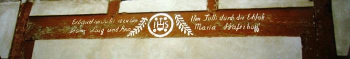 Hausinschrift