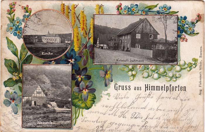 Ansichtskarte  Bildseite