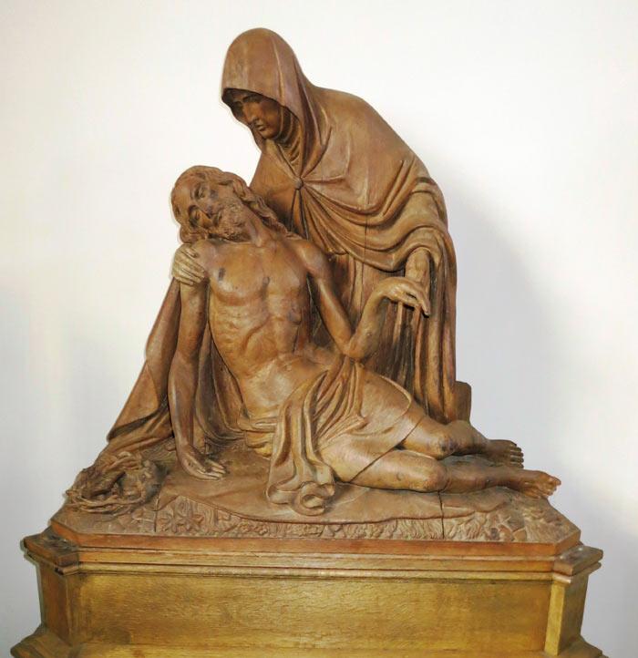 Pieta in der Pfarrkirche Westönnen