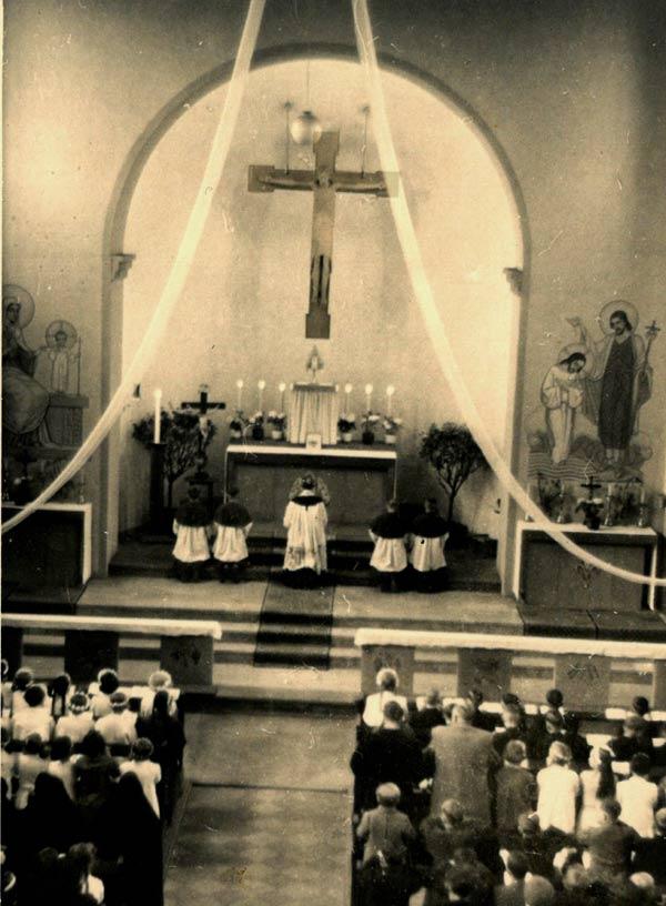 Foto 2 Kreuz Westönnen1956 (Quelle: Liesel Schulte Westönnen)