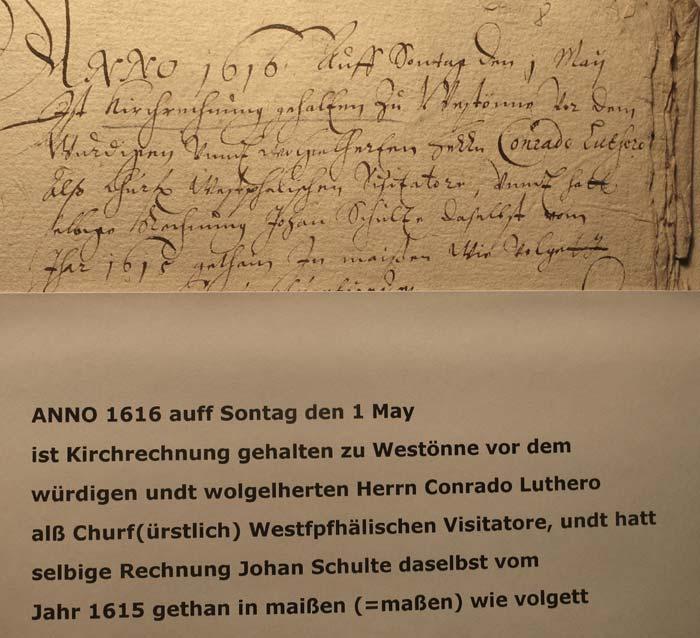 Rechnungsbuch 34a (Pfr.-Archiv Westönnen)
