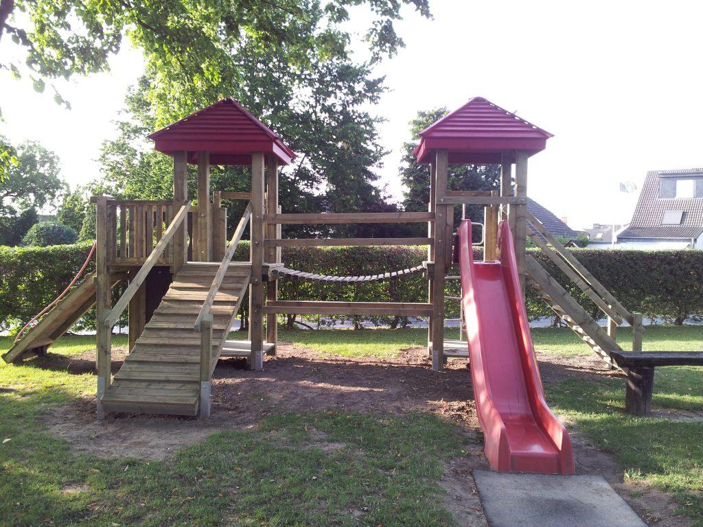 Hier können die Eltern ihre Kinder auf Schützenfest beruhigt spielen lassen.
