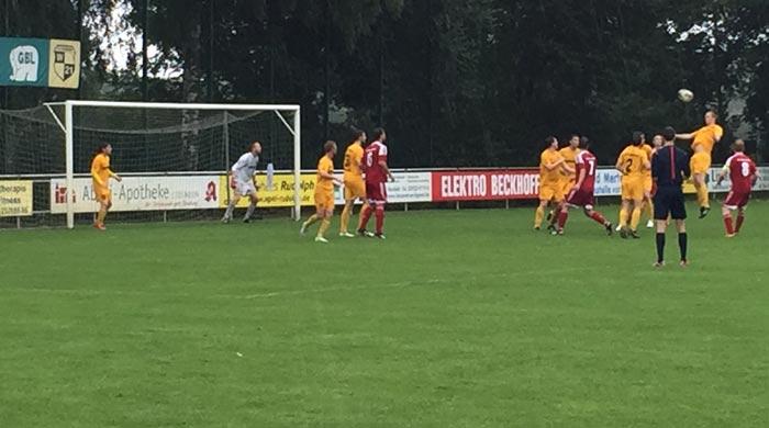 Strömender Regen und Sieg in Liesborn