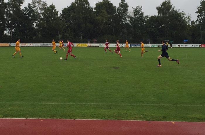 PokalsiegStrömender Regen und Sieg in Liesborn in Höingen