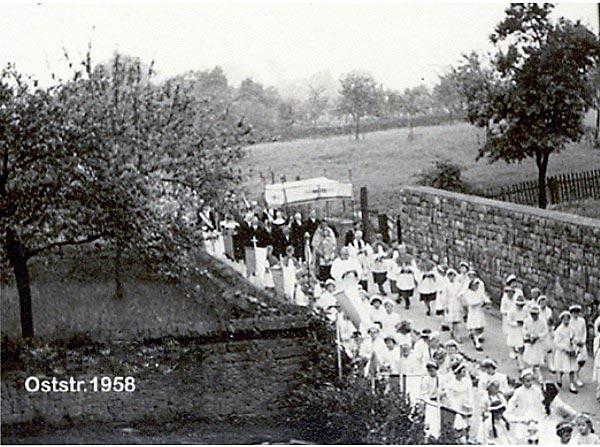 Prozession am 05. Juni 1958