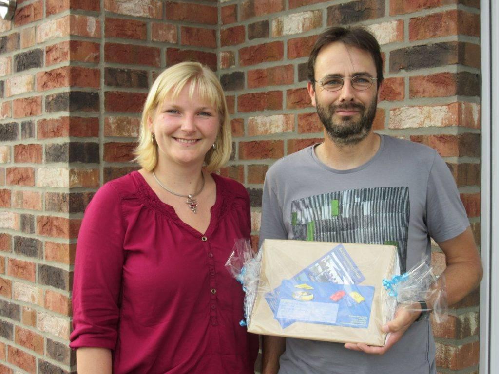 Angela Seifert und Herr Mersmann aus Welver