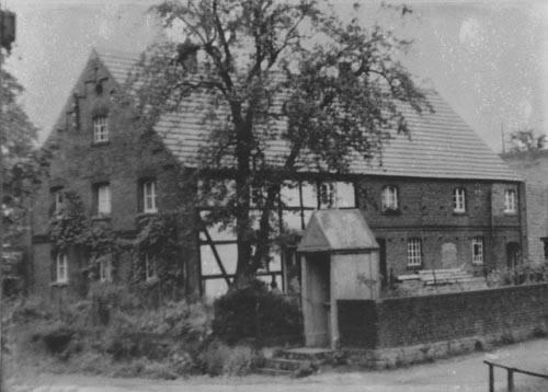 Das Haus Post vor der Renovierung