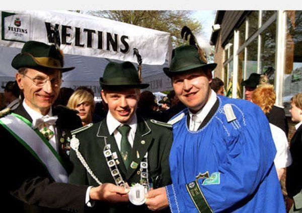 Hendrik Schüngel wird Bezirksprinz des Schützenbezirkes Werl-Ense. Es ist nur der Anfang.