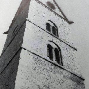 Mit dem Bau der Kirche im ersten Drittel des vorigen Jahrhunderts wurden die Steinbrüche von Westönnen aufgemacht