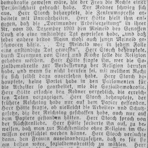 Westfälischer Volksfreund am 14.1.1919 (2 von 4) - Sozialdemokratische Vers.