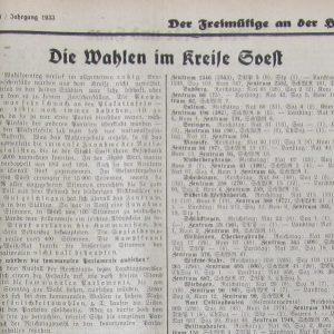 Der Freimütige an der Haar vom 6. März 1933