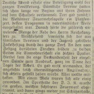 Soester Kreisblatt vom 03.05.1933