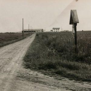 Brands Feldkreuz um 1960, Blick nach Westen