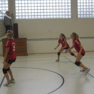 Volleyballdamen gewinnen Derby gegen STVII