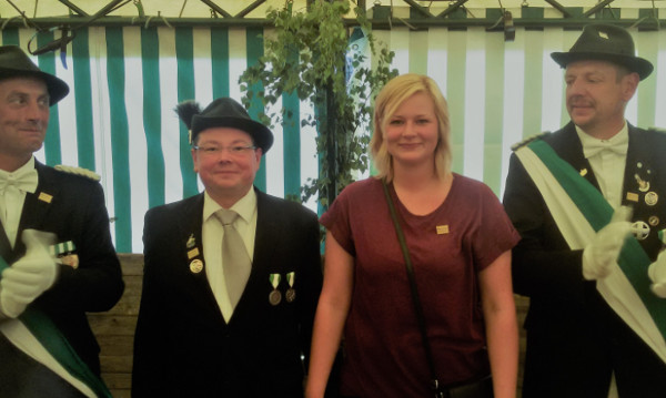 Markus Junker und Geena Lindemann regieren in Mawicke