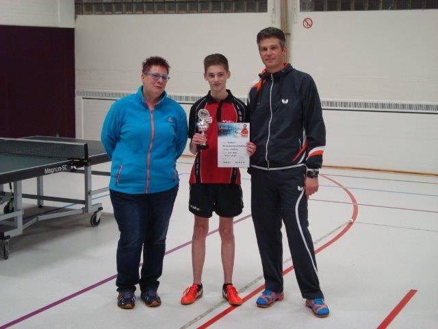 Schüler- und Jugendvereinsmeister Noah Deese
