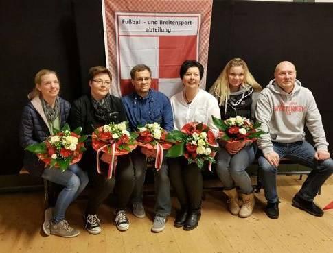 v.l.n.r. Kathrin Schriek, Beate Tschirch, Wladimir Schinow, Evi Bonnekoh und Diana Geisler