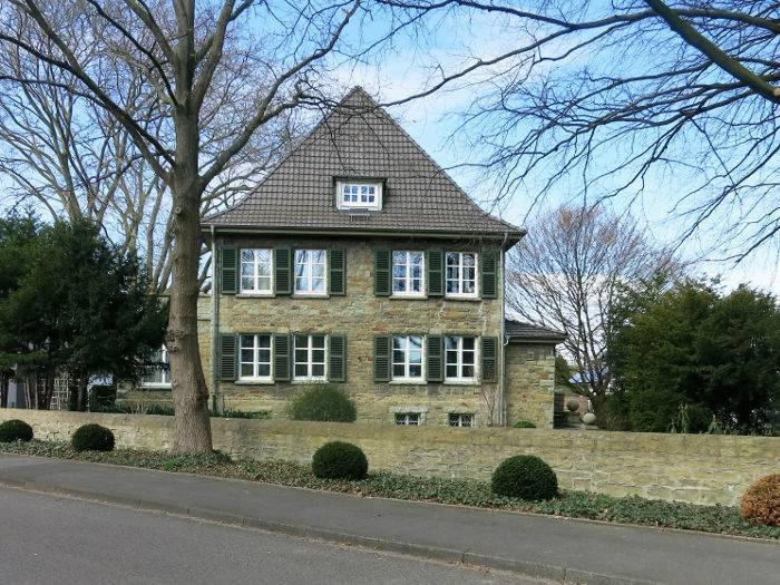 Haus Dregger, heute, Ansicht von Osten