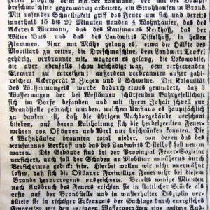 Zeitungsbericht Soester Anzeiger vom 19.09.19