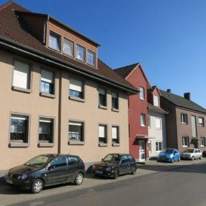 Häuserreihe Breite Straße Nr. 34 – 38 heute