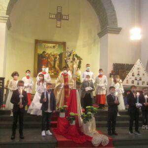 Zwölf Kinder empfingen das Sakrament der Erstkommunion