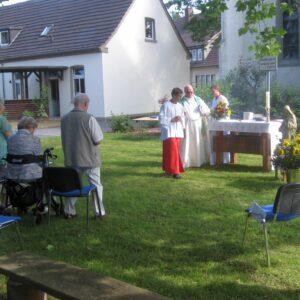 Heilige Messe zum Patronatsfest in Niederbergstraße