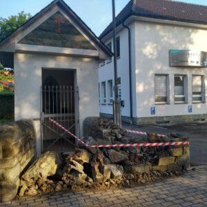 Heiligenhäusschen an der Breitestraße beschädigt