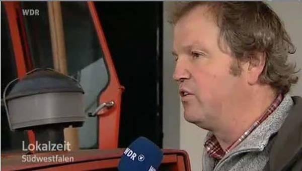 Der WDR berichtet über die Sauerkrautherstellung in Westönnen