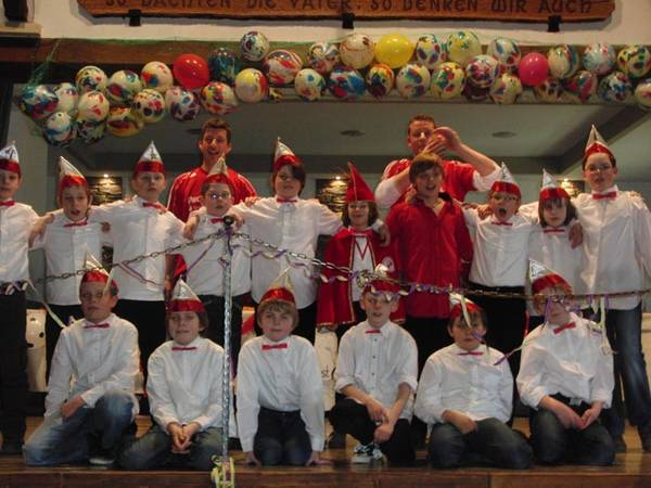 Rot-Weißer Kinderkarneval in der Schützenhalle