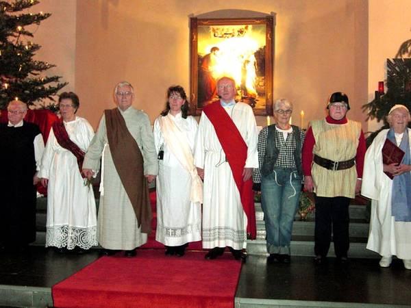 """Aufführung """"Das Leben der Hl. Cäcilia"""" in der Kirche"""