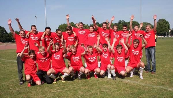 U19 feiert die Meisterschaft