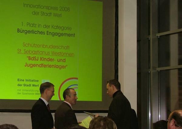 Die Schützenbruderschaft gewinnt mit dem BDSJ-Fereinlager den Innovationspreis der Stadt Werl