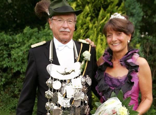 Volker und Leni Cramer sind Königspaar in Mauke