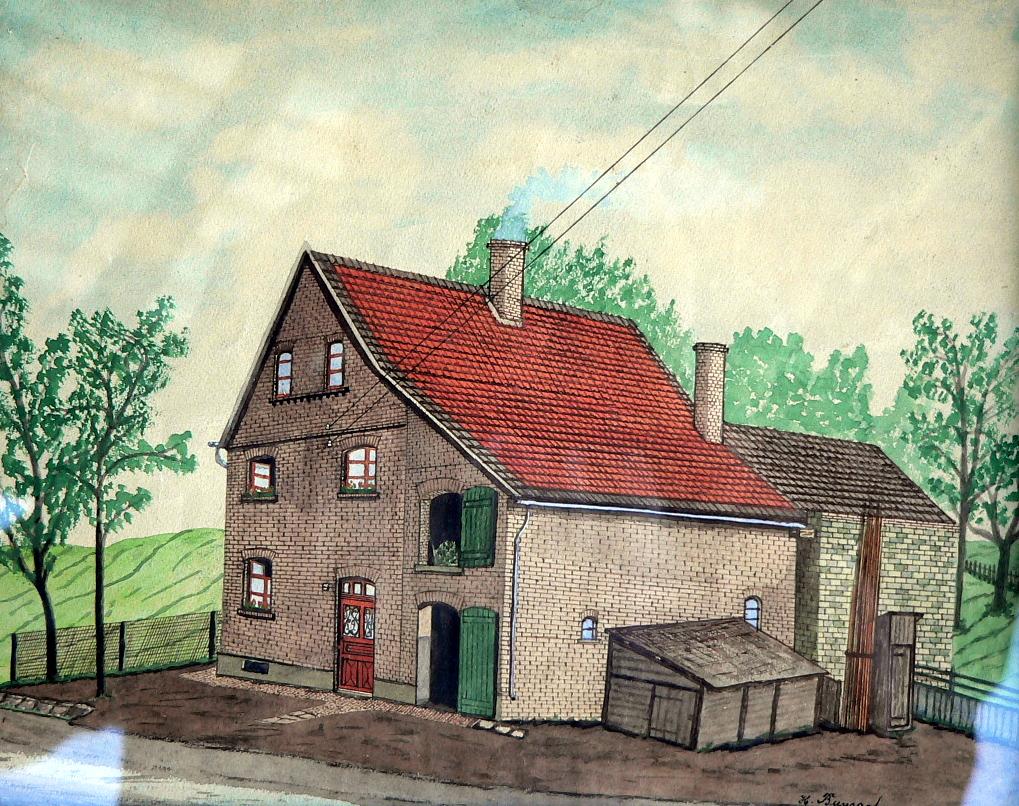 Das Haus Hoffmann im Hellweg, heute Kliemt