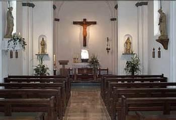 Die Kapelle von innen.