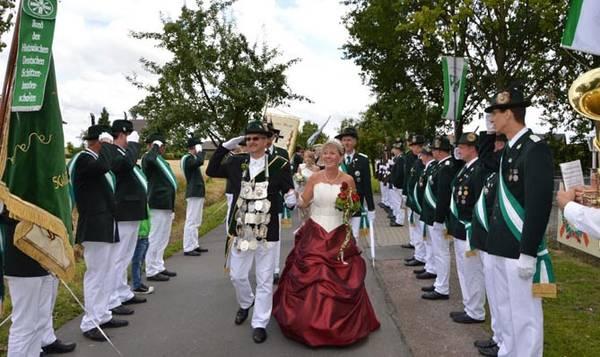 Christof Beckmann und Ehefrau Ingrid regieren in Westönnen