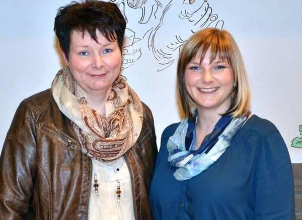 Einigkeit: Elisabeth Risse übergibt den Vorsitz an Angela Seifert
