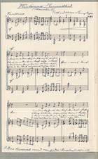 1. Seite Original Heimatlied